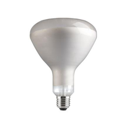 Tungsram 250W Infrared E27 Reflector Incandescent Bulb Dim 240V Satin Ref91390 *Up to 10 Day Leadtime*