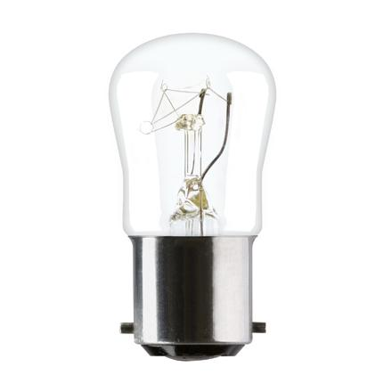 Tungsram 15W Sewing machine B15d Pygmy Incandescent Bulb 85lm Dim 240V Ref31831 *Up to 10 Day Leadtime*