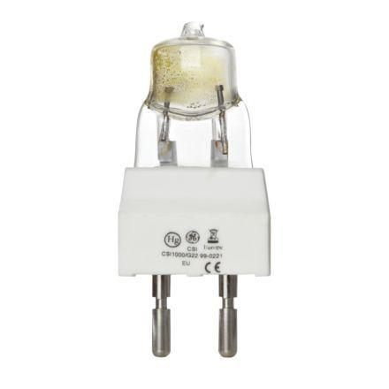 Tungsram 1000W CSI/CID Tubular G22 Showbiz Discharge Bulb 90000lm EEC-A+ Ref88494 *Up to 10 Day Leadtime*