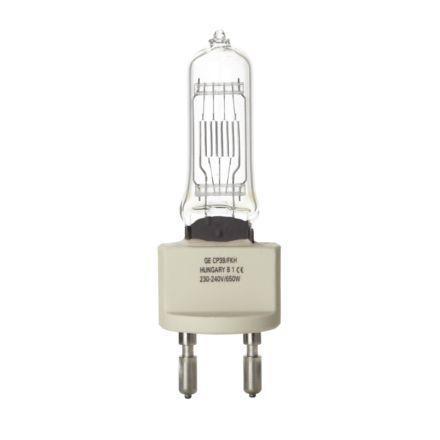 Tungsram 650W Single Ended Halogen G22 Showbiz Lamp Dim 16900lm EEC-C 240V Ref88531 *Upto 10Day Leadtime*