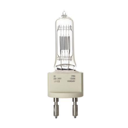 Tungsram 1200W Single Ended Halogen G22 Showbiz Lamp Dim 33000lm EEC-C 240V Ref88508 *Upto10Day Leadtime*