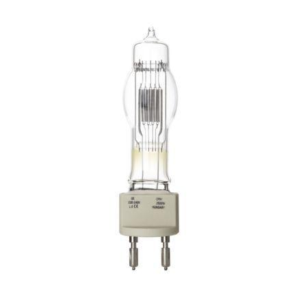 Tungsram 2500W Single Ended Halogen G22 Showbiz Lamp Dim 67500lm EEC-C 240V Ref88505 *Upto10Day Leadtime*