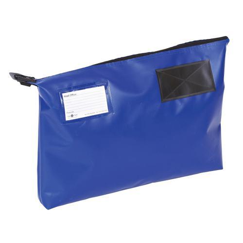 Mail Pouch A3 Gusset 470 x 336 x 76mm Blue Ref GP2B