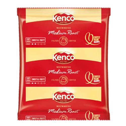 Kenco Westminster Filter Coffee 3 Pints per 60g Sachet Ref 4032272 [Pack 50]