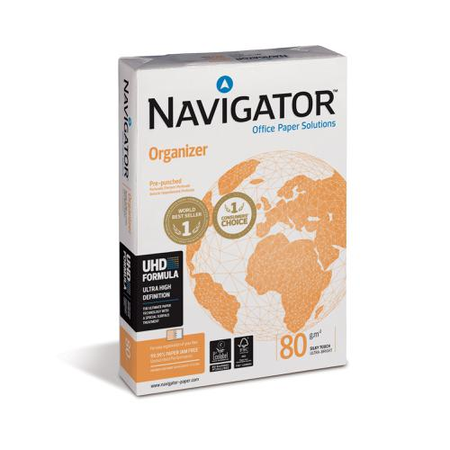 Navigator Orgn Paper Multifunctional Ream-Wrapped 80gsm A4 Ref  [500 Shts][REDEMPTION] Apr-June 20