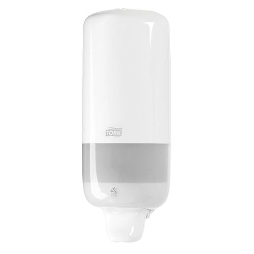 Tork Liquid Soap Dispenser for 1000ml Refills Casing White Ref 560000