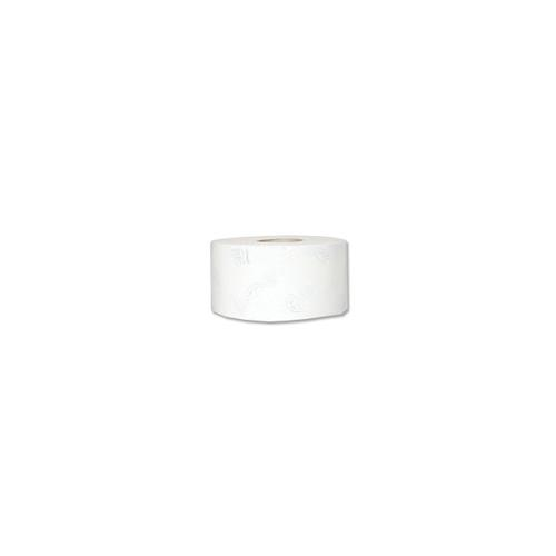 Tork Advanced Mini Jumbo Toilet Roll 2-ply 90x200mm 850 Sheets White Ref 120238 [Pack 12]