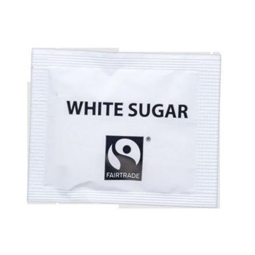 Fairtrade Sugar Sachets White Ref A07760 [Pack 1000]