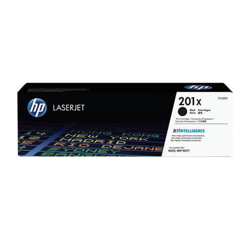 HP 201X Laserjet Toner Cartridge High Yield Page Life 2800pp Black Ref CF400X