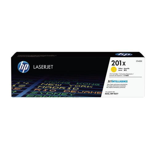 HP 201X Laserjet Toner Cartridge High Yield Page Life 2300pp Yellow Ref CF402X