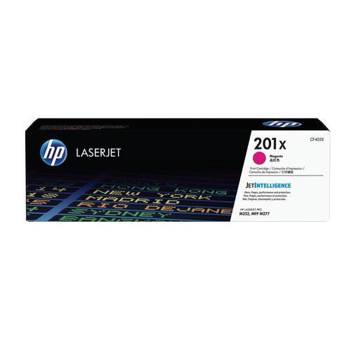HP 201X Laserjet Toner Cartridge High Yield Page Life 2300pp Magenta Ref CF403X