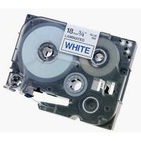 Brother P-Touch TZe-243 18mm Blue On White Labelling Tape Ref TZE243 *3to5 Day Leadtime*