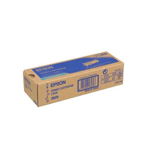 Epson S0506 Laser Toner Cartridge Page Life 2500pp Cyan Ref C13S050629 *3to5 Day Leadtime*