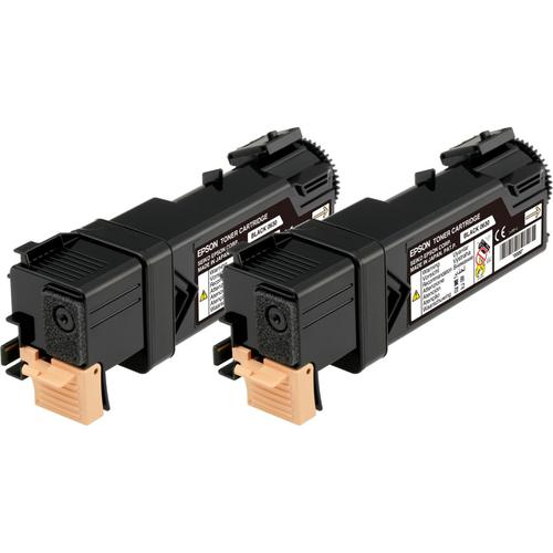 Epson S0506 Laser Toner Cartridges Page Life 3000pp Black Ref C13S050631[Pack 2] *3to5 Day Leadtime*