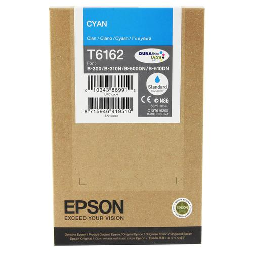 Epson T6162 Inkjet Cartridge Page Life 3500pp 53ml Cyan Ref C13T616200 *3to5 Day Leadtime*