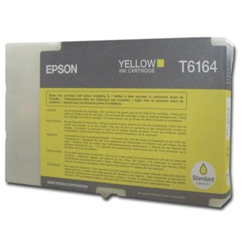 Epson T6164 Yellow Inkjet Cartridge Page Life 3500pp 53ml Ref C13T616400 *3to5 Day Leadtime*