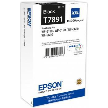Epson T7891 Inkjet Cartridge Extra High Yield 4000pp Ref C13T789140 *3to5 Day Leadtime*