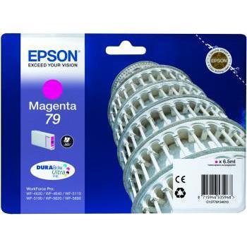 Epson T7913 Inkjet Cartridge Pisa 800pp 6.5ml Magenta Ref C13T79134010 *3to5 Day Leadtime*