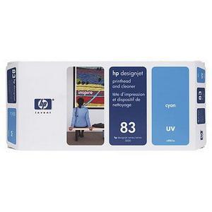 Hewlett Packard [HP] No.83 Printhead & Printhead Cleaner UV Cyan Ref C4961A *3to5 Day Leadtime*