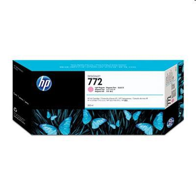 Hewlett Packard [HP] No. 772 Inkjet Cart HY 300ml Light Magenta Ref CN631A *3to5 Day Leadtime*