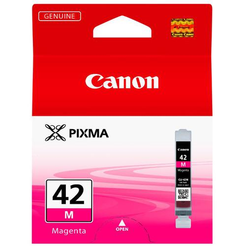 Canon CLI-42M Inkjet Cartridge Page Life 416pp 13ml Magenta Ref 6386B001
