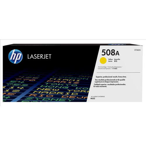 HP 508A Laser Toner Cartridge Page Life 5000pp Yellow Ref CF362A