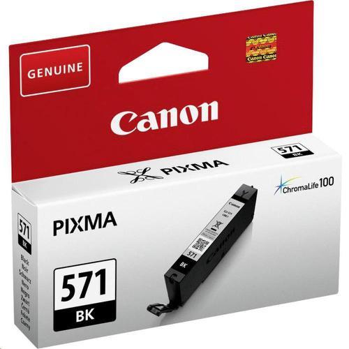 Canon CLI-571 InkJet Cartridge Page Life 398pp 7ml Black Ref 0385C001