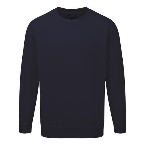 Click Workwear Sweatshirt Polycotton 300gsm 2XL Navy Blue Ref CLPCSNXXL *1-3 Days Lead Time*