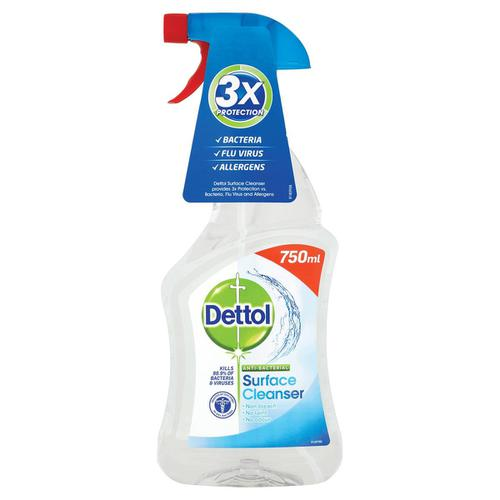 Dettol Surface Cleanser Anti-Bacterial Spray 750ml Ref 14781