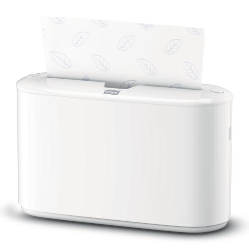 Tork Xpress Countertop Multifold Hand Towel Dispenser W274xD169xH382mm Plastic White Ref 552200