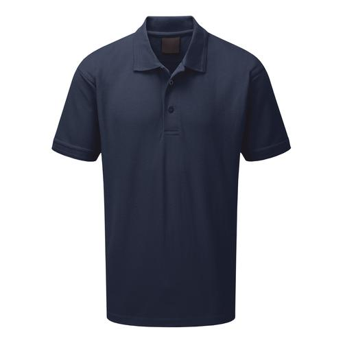 Click Workwear Polo Shirt Polycotton 200gsm Medium Navy Blue Ref CLPKSNM *1-3 Days Lead Time*