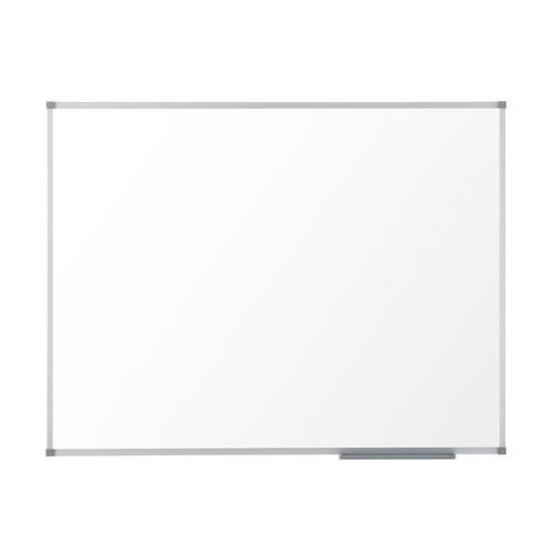 Nobo Classic Enamel Eco Whiteboard Magnetic Fixings Included W1800xH1200mm White Ref 1905238