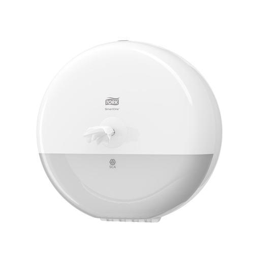 Tork SmartOne Toilet Roll Dispenser 279x167x279mm White Ref 680000
