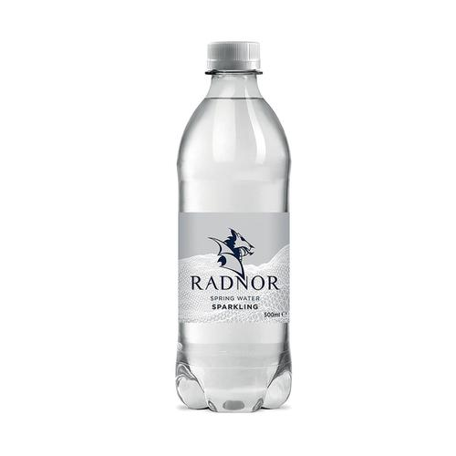 Radnor Hills Sparkling Spring Water Bottle Plastic 500ml Ref 0201036 [Pack 24]