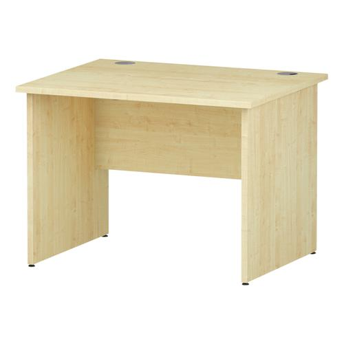 Trexus Rectangular Desk Panel End Leg 1000x800mm Maple Ref I000436