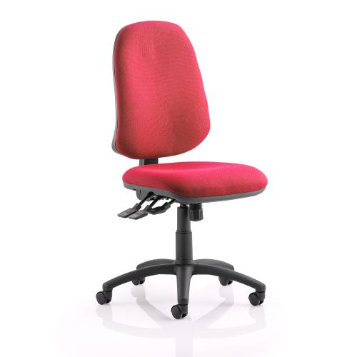 Trexus 3 Lever Maxi Operators Chair Red 530x480x470-580mm Ref OP000179