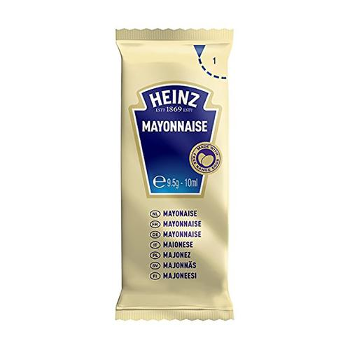 Heinz Free Range Mayonnaise Sachets Single Portion 10g Ref 76003386 [Pack 200]