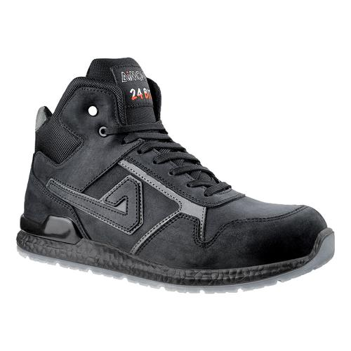 Aimont Kanye Safety Boots Protective Toecap Size 7 Black Ref AB10407 [Pair]