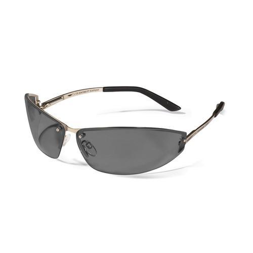 JSP Expert Safety Spectacles Adjustable Metal Frame Smoke Ref 1EXP23S