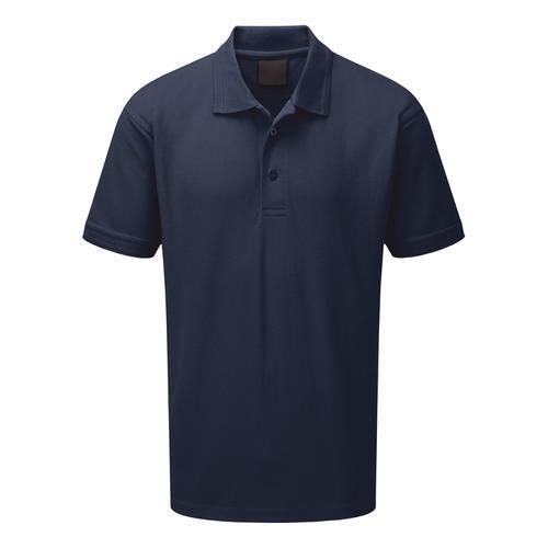 Click Workwear Polo Shirt Polycotton 200gsm 3XL Navy Blue Ref CLPKSNXXXL *1-3 Days Lead Time*