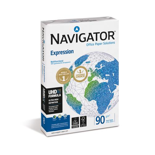 Navigator Expression Paper Ream-Wrapped 90gsm A3 White Ref NAV90A3 [500 Sheets][REDEMPTION] April-June 20