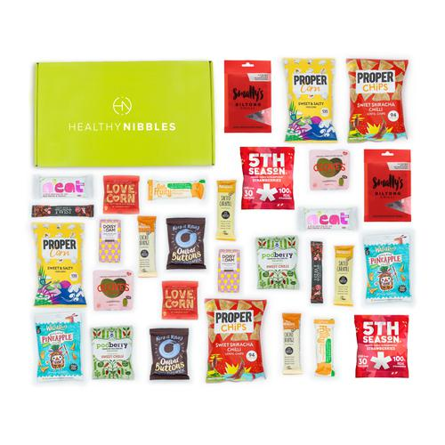 Healthy Nibbles Nut Free Snack 60 Piece Office Box Ref NutFree60 *Up to 2-3 Day Leadtime*