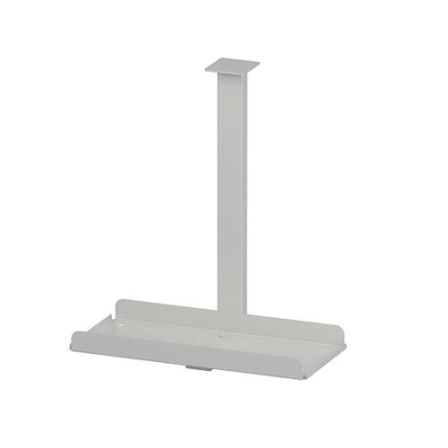 Trexus Pc Holder Desk Mounted White Ref BE045