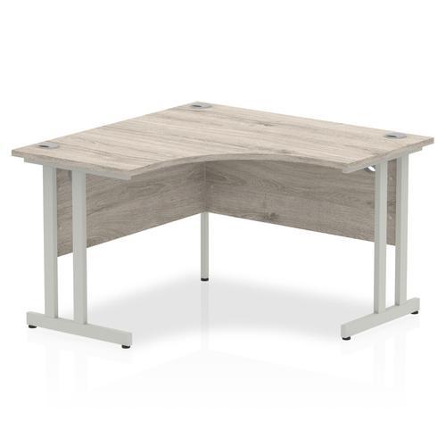 Trexus Cantilever Call Centre Desk 1200mm Grey Oak Ref I003530