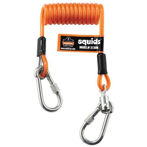 Ergodyne Coil Tool Lanyard Medium Orange Ref EY3130M *Up to 3 Day Leadtime*