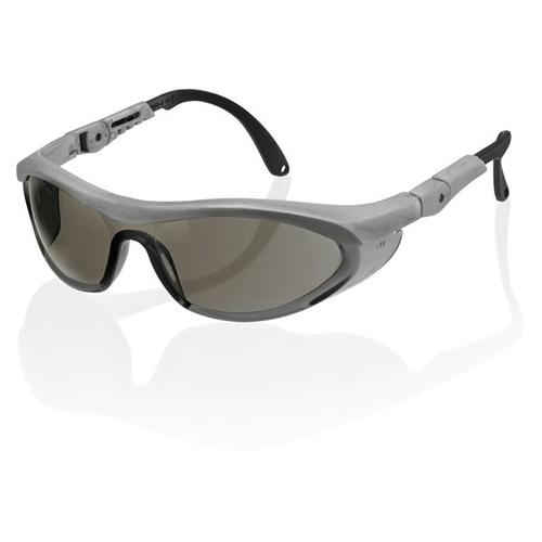 B-Brand Utah Safety Spectacles Grey Ref BBUTSS2GY [Pack 10] *Up to 3 Day Leadtime*