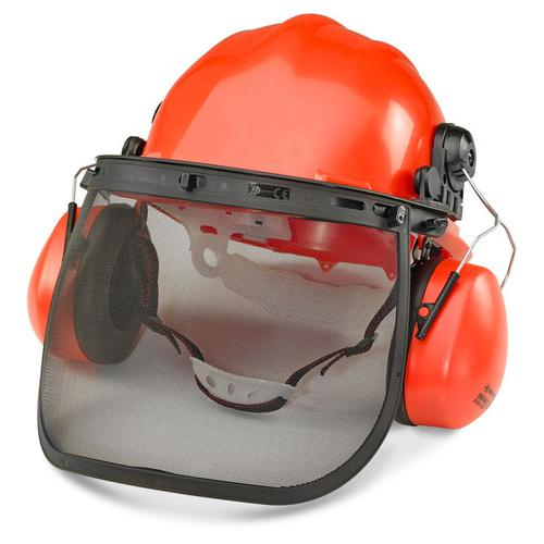 B-Brand Forestry Kit for Face and Hearing Protection Orange Ref BBFK *Up to 3 Day Leadtime*