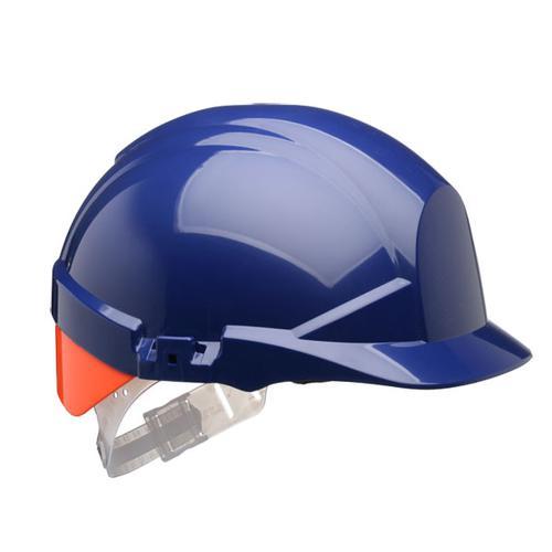Centurion Reflex Safety Helmet Blue with Orange Rear Flash Blue Ref CNS12BHVOA *Up to 3 Day Leadtime*
