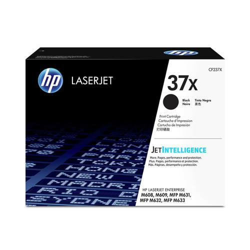 HP 37X Laser Toner Cartridge High Yield Page Life 25000pp Black Ref CF237X