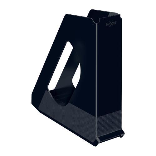 Rexel Choices Magazine File Capacity 60mm Black Ref 2115605